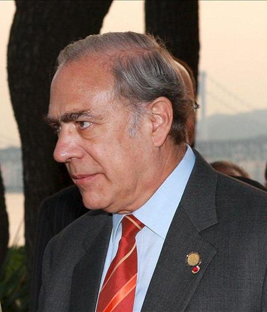 En la imagen, el secretario general de la Organización para la Cooperación y el Desarrollo Económico (OCDE), José Ángel Gurría. EFE/Archivo