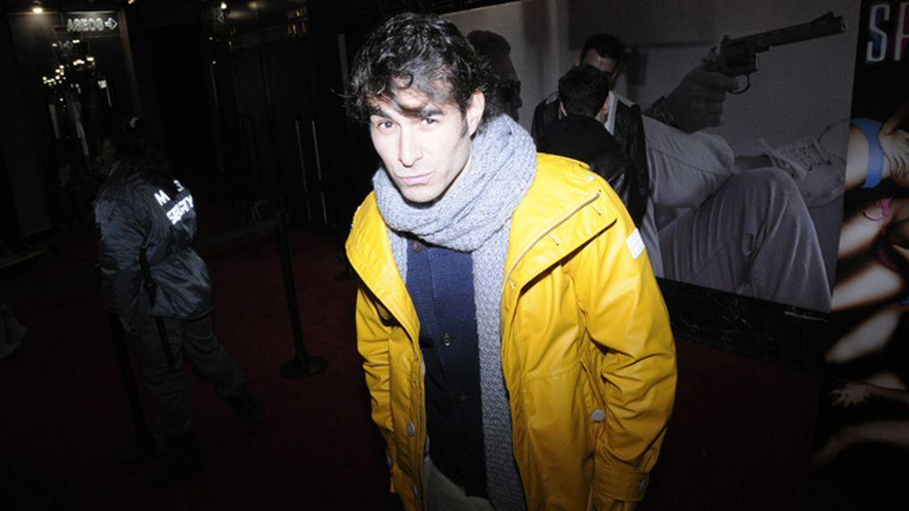 Daniel Muriel presumiendo de chaqueta