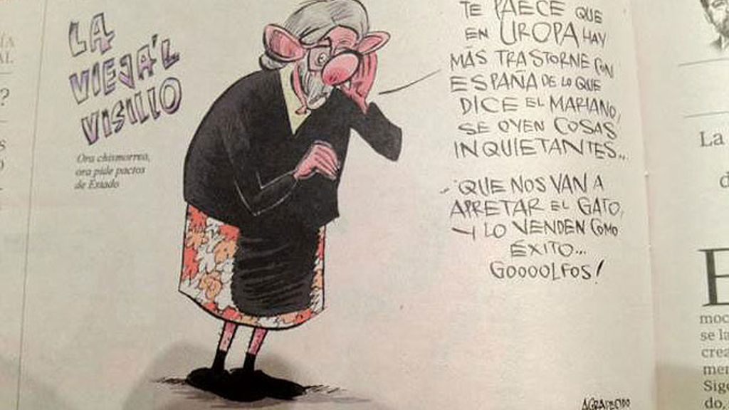 José Mota 'vieja el visillo'