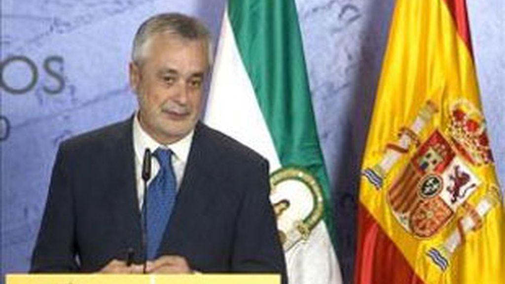 Imagen de archivo del presidente de la Junta de Andalucía, José Antonio Griñán. Foto: EFE.