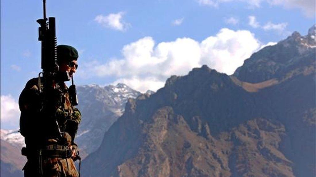 Un soldado turco, durante una operación contra el Partido de los Trabajadores de Kurdistán. EFE/Archivo