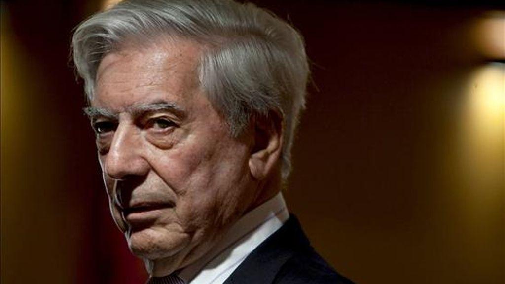 En la imagen, el escritor Mario Vargas Llosa, Premio Nobel de Literatura 2010. EFE/Archivo