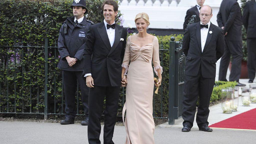 Los Príncipes de Grecia, Pablo y Marie-Chantal