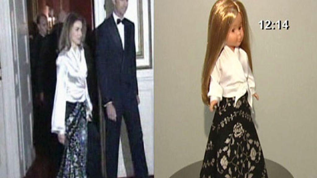 Doña Letizia, toda una muñeca