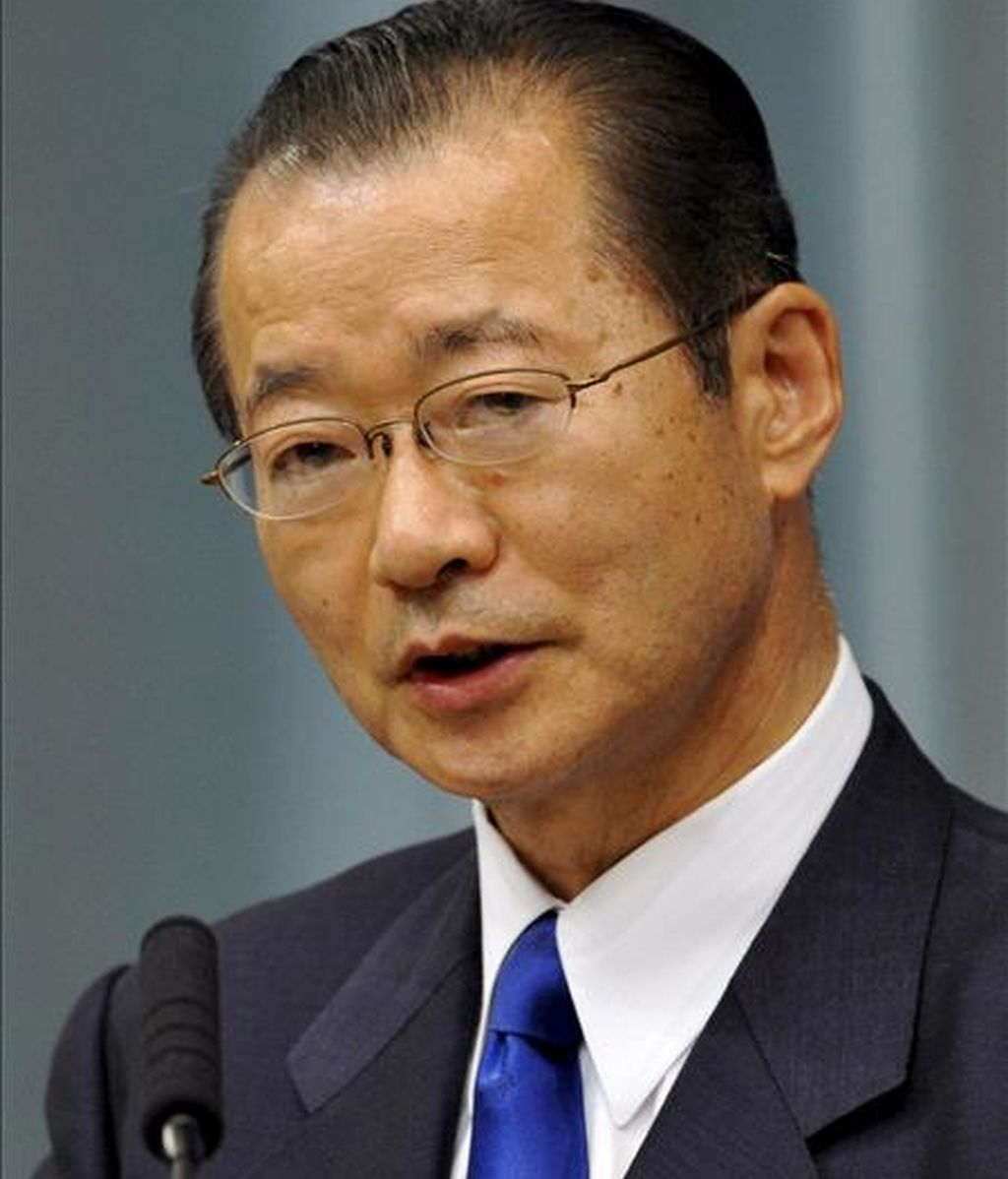El ministro portavoz nipón, Takeo Kawamura. EFE/Archivo