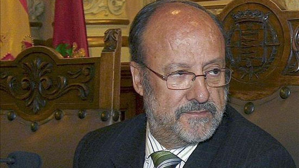 El alcalde de Valladolid, Javier León de la Riva. EFE/Archivo