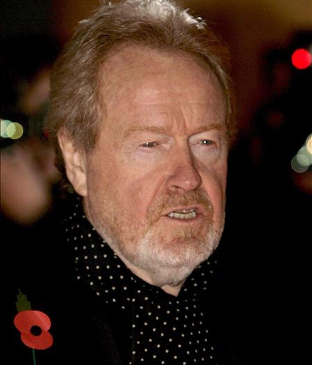 El cineasta británico Ridley Scott. EFE/Archivo