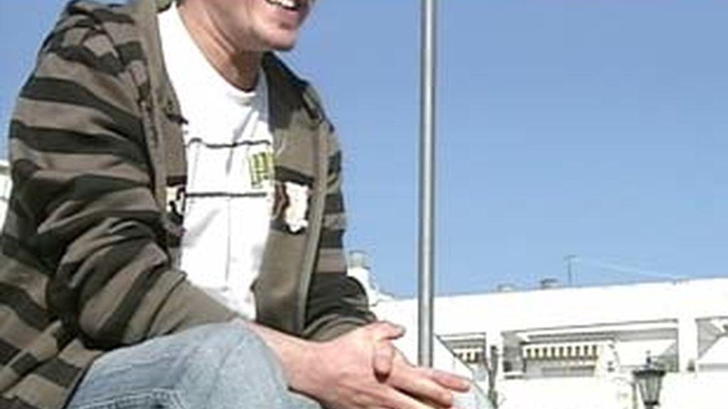 Aitor ha acudido hoy al hospital militar para realizar el examen médico. Vídeo: Informativos Telecinco.