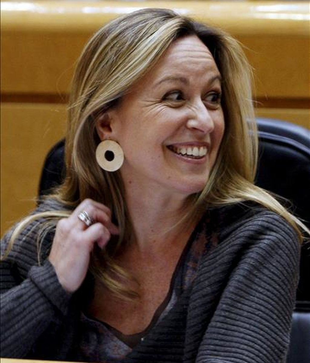 La ministra de Sanidad y Políticas Sociales, Trinidad Jiménez. EFE/Archivo