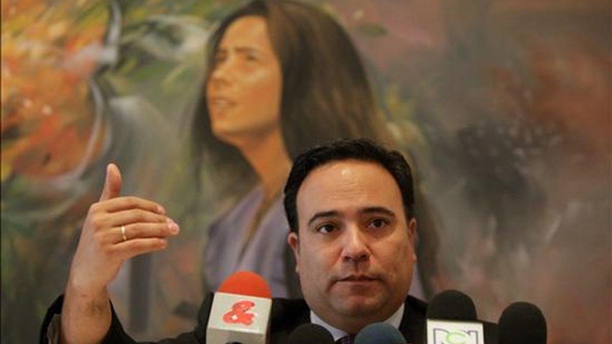 El ministro colombiano de Comercio, Industria y Turismo, Luis Guillermo Plata, quien visita Japón para incentivar las relaciones comerciales con ese país asiático. EFE/Archivo
