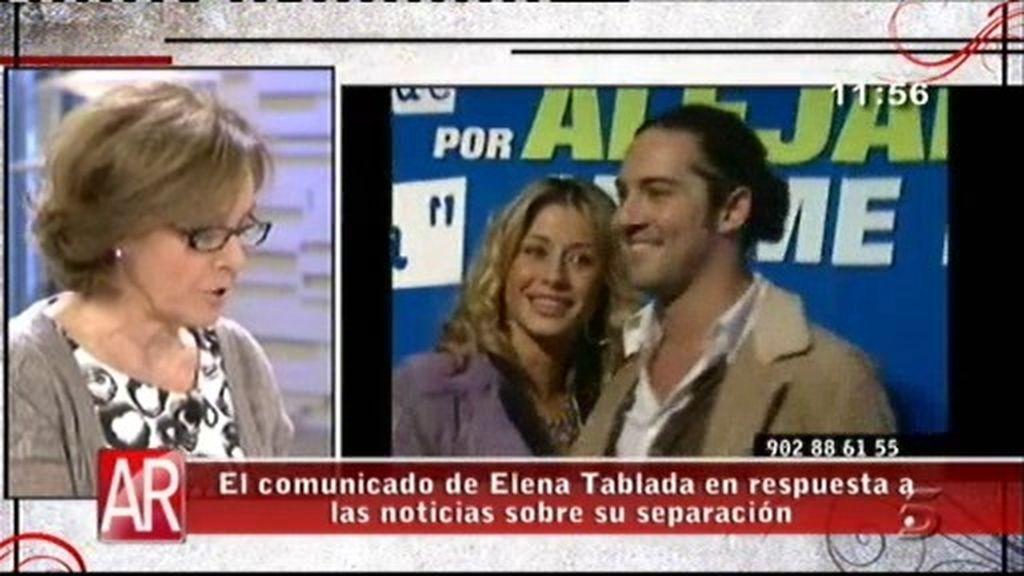 "El abogado de Tablada: ""Es absolutamente falso que reclame un millón de euros a Bisbal"""