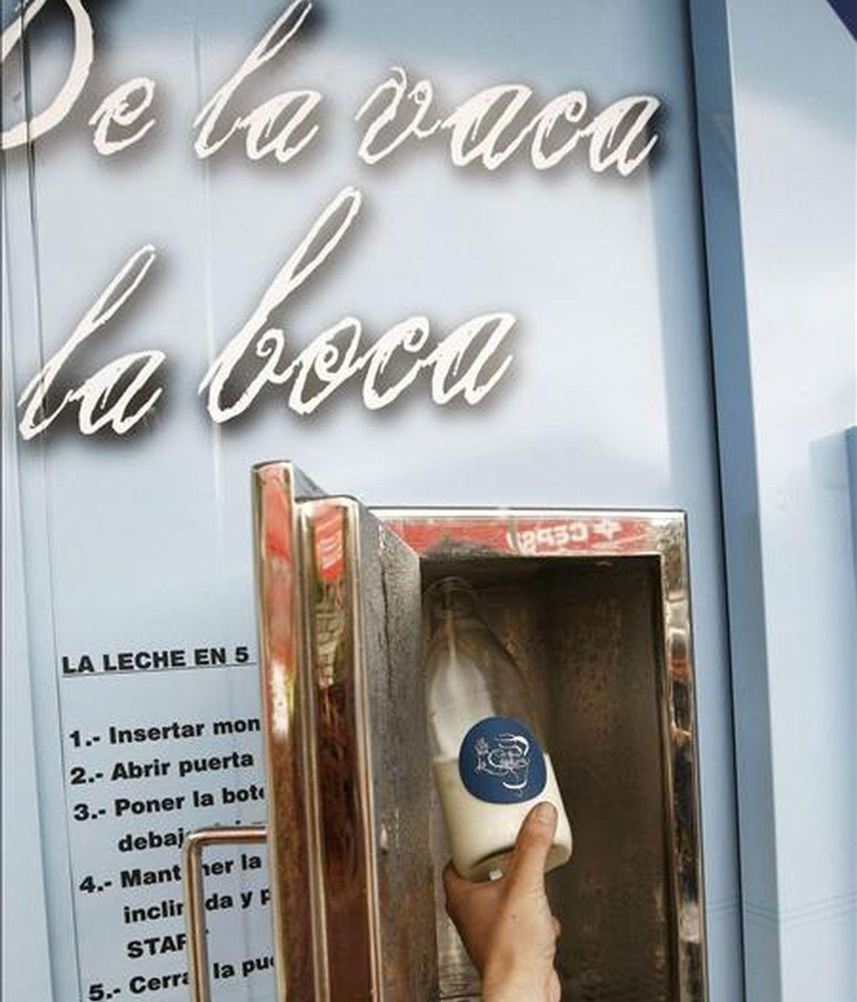 Una explotación ganadera de Cantabria ha puesto hoy en funcionamiento en Solares, por primera vez en la región, una máquina expendedora de leche natural pasteurizada, una iniciativa con la que los ganaderos intentan dar valor añadido a su producto y recuperar el sabor tradicional de la leche. EFE