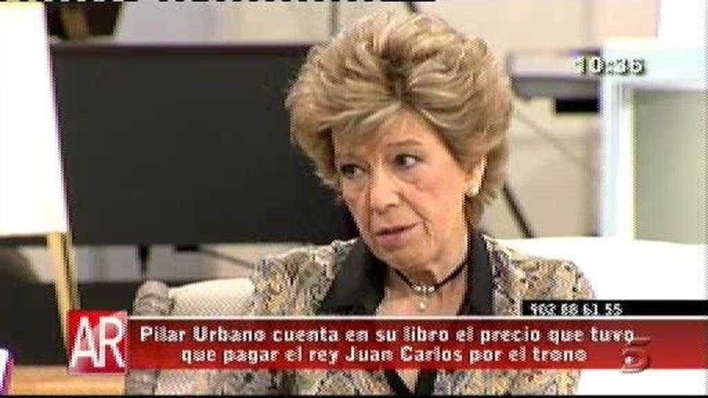 """Pilar Urbano: """"El Rey queda como un Rey hecho a sí mismo"""""""