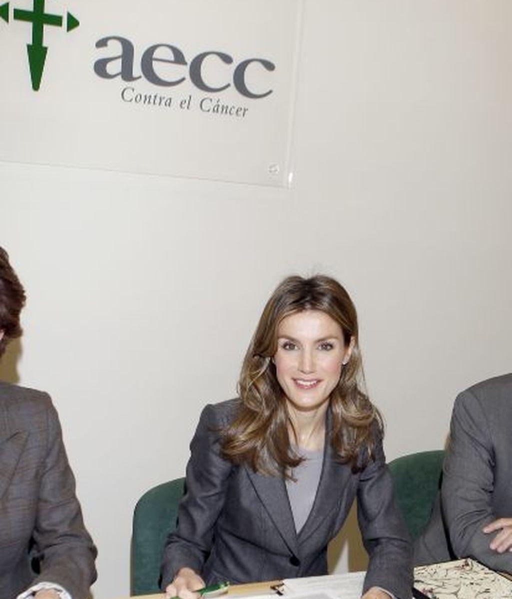 La Princesa Letizia, contra el cáncer