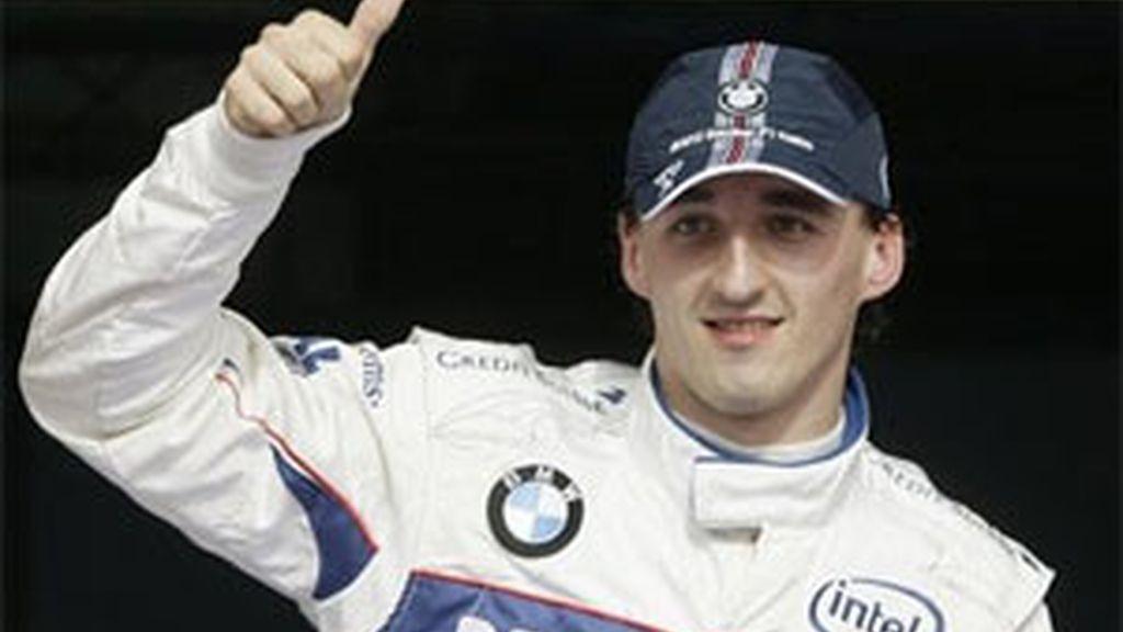 Kubica, líder de la clasificación de pilotos. Foto: Archivo