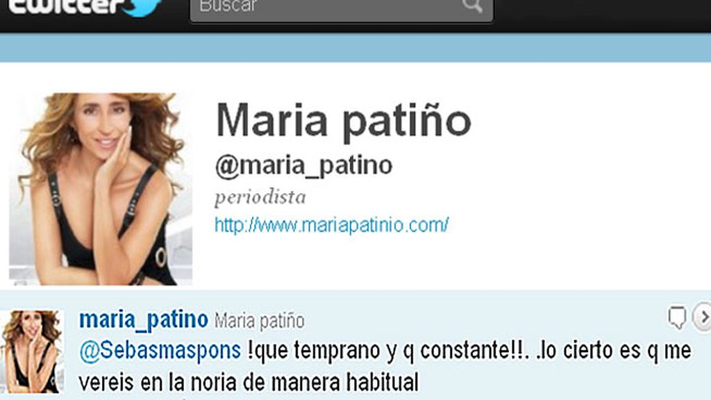 María Patiño se sube a 'La noria' como colaboradora habitual