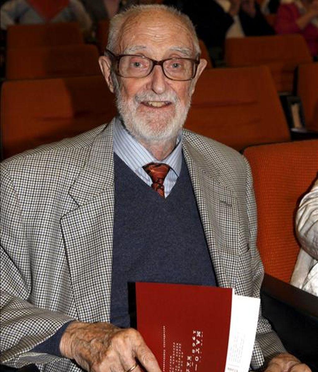 El escritor José Luis Sampedro. EFE/Archivo