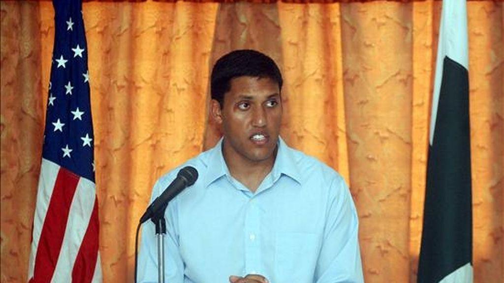 El director de la Agencia para el Desarrollo Internacional (USAID), Rajiv Shah. EFE/Archivo
