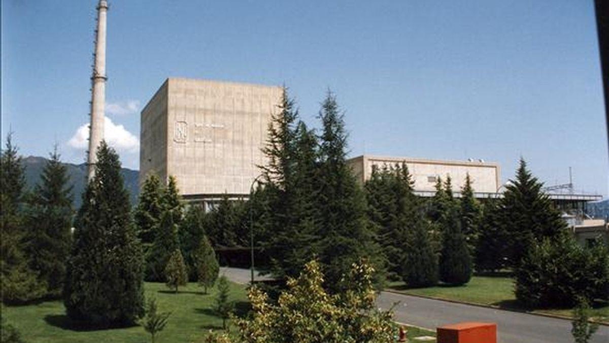 En la imagen, la central nuclear de Santa María de Garoña. EFE/Archivo