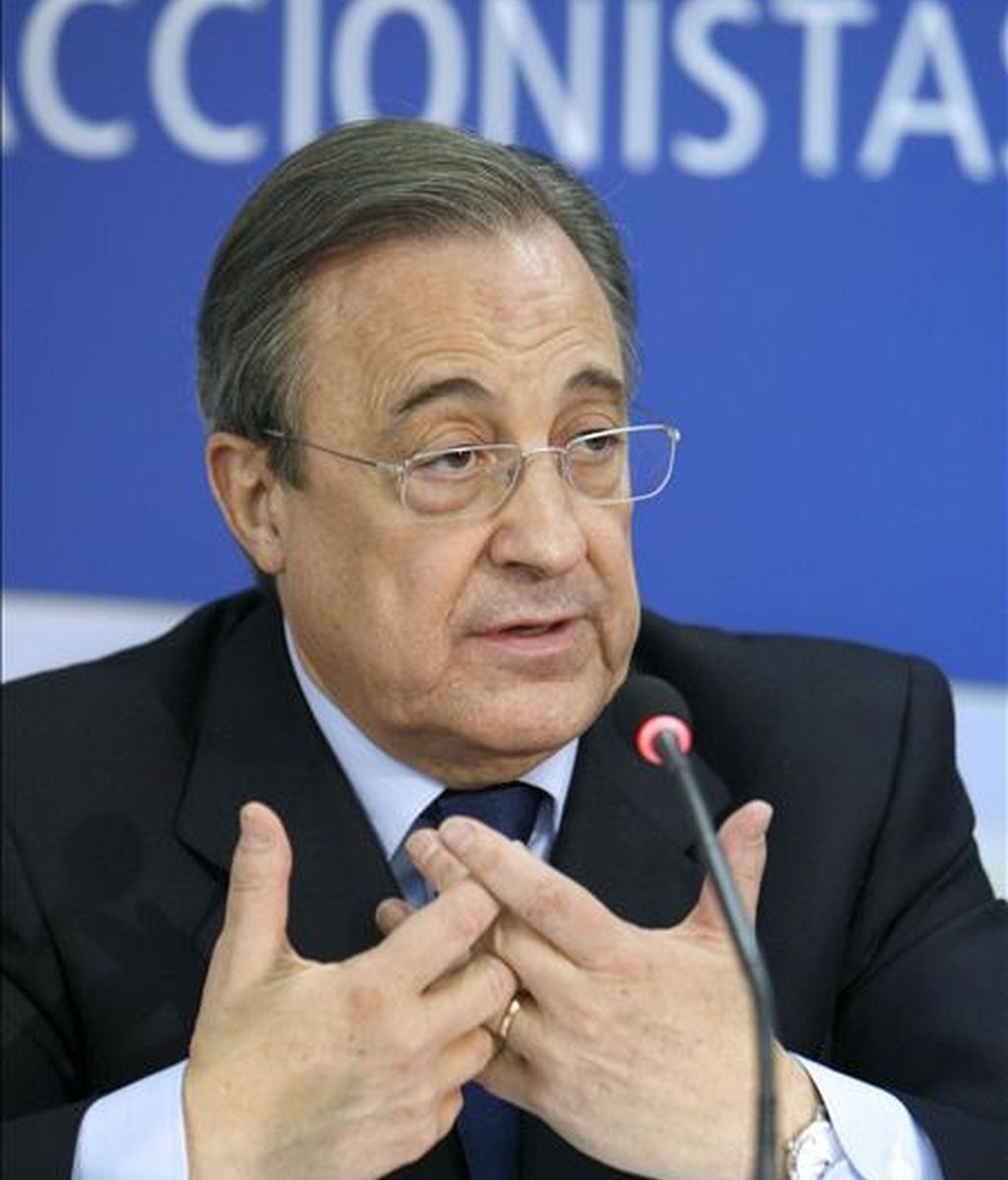El presidente de ACS, Florentino Pérez. EFE/Archivo