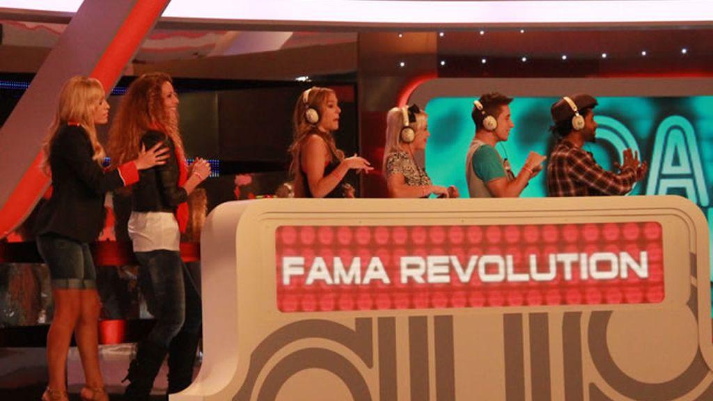 El equipo de 'Fama Revolution'