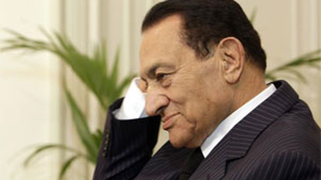 Mubarak en una imagen de archivo. Foto: EFE