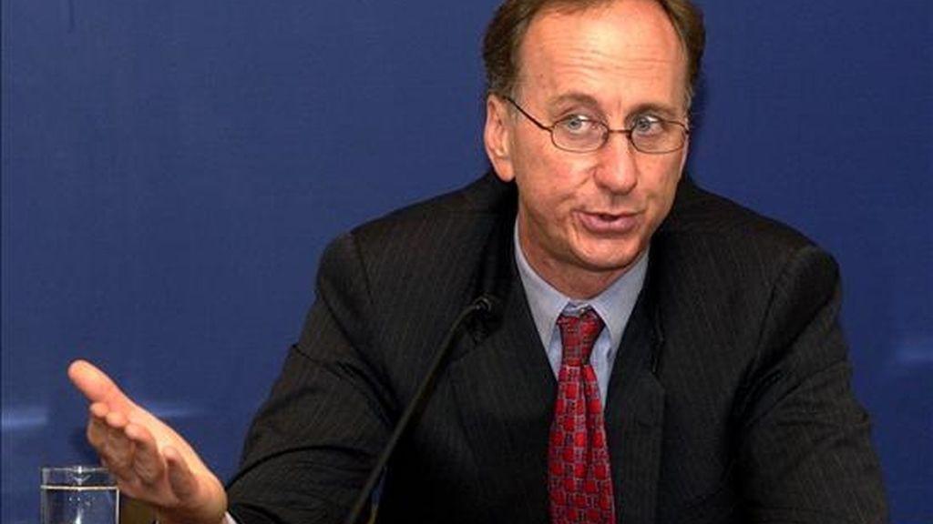 La misión del Fondo, encabezada por el subdirector del Departamento del Hemisferio Occidental, Robert Rennhack, también prevé mantener encuentros con economistas y académicos para obtener información sobre el IPC. EFE/Archivo