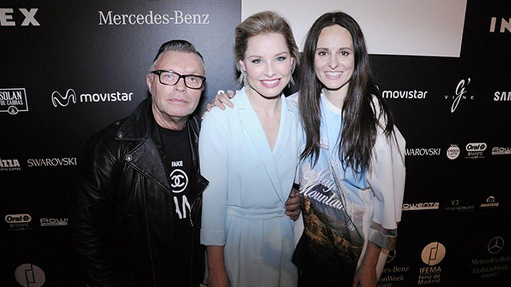 Fran Larrañaga, Soraya Arnelas y Ana Locking