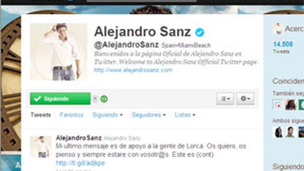 Alejandro Sanz ha tomado su decisión tras polemizar con los usuarios de Twitter.