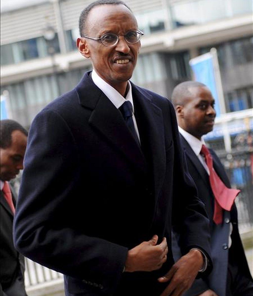 El presidente ruandés, Paul Kagame. EFE/Archivo