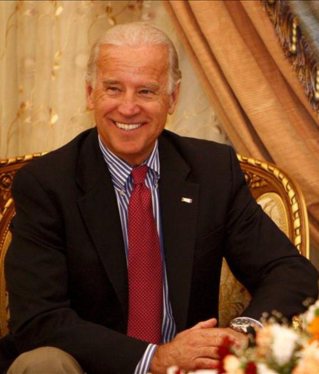 El vicepresidente estadounidense, Joe Biden, durante una visita a Bagdad en enero del pasado año. EFE