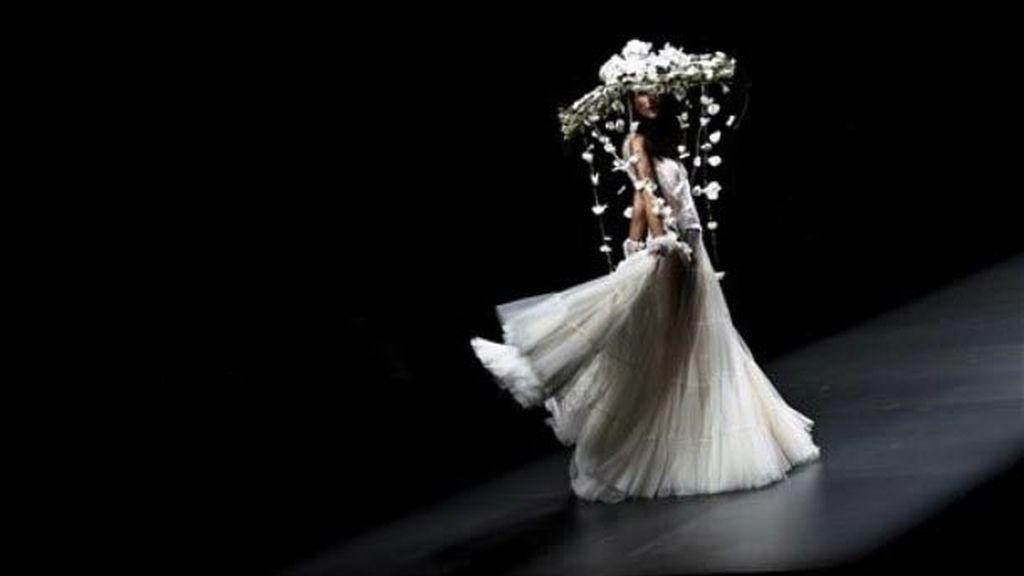 Una novia 'Flower Power'