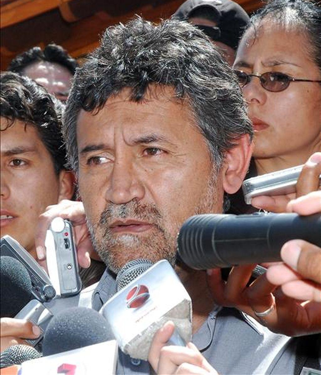 """En una conferencia de prensa, el portavoz presidencial, Iván Canelas, responsabilizó al Ejecutivo peruano de los problemas diplomáticos entre los dos países andinos, por su actitud de """"abierta provocación"""" hacia Bolivia. EFE/Archivo"""