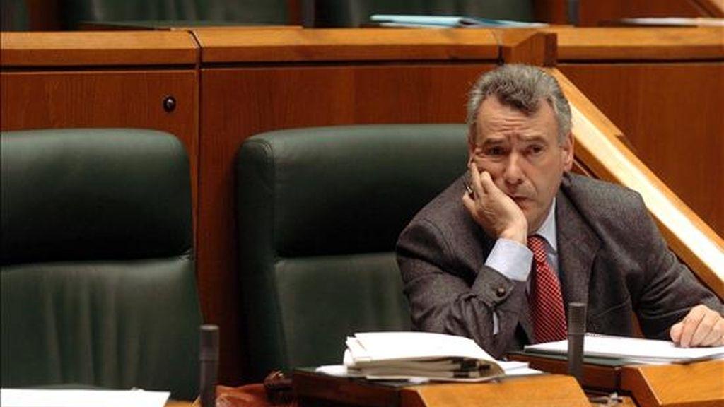 El candidato de EA al Parlamento europeo, Sabin Intxaurraga. EFE/Archivo