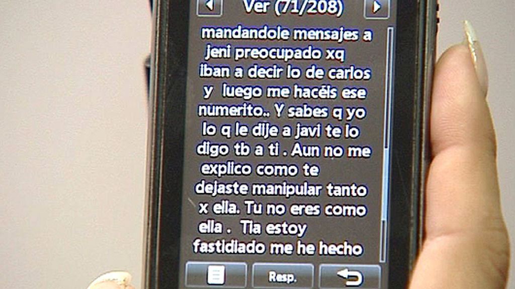 Los mensajes de Manu a Silvia
