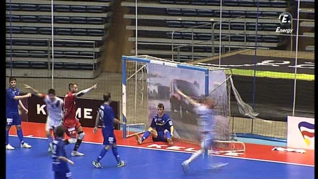 Gol de Chus (Santiago Futsal 3-2 Azkar)