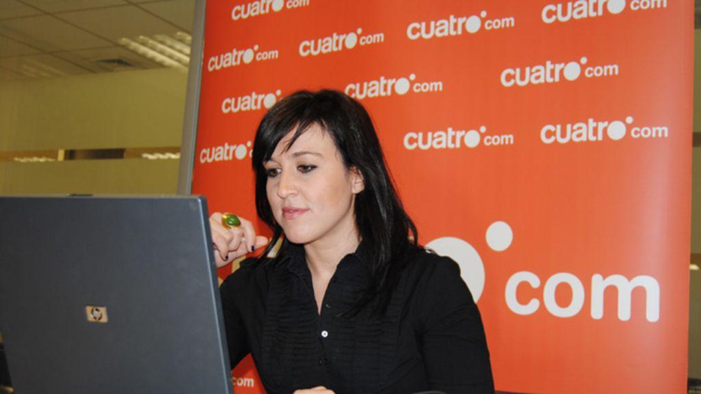 Marian Frias visita cuatro.com