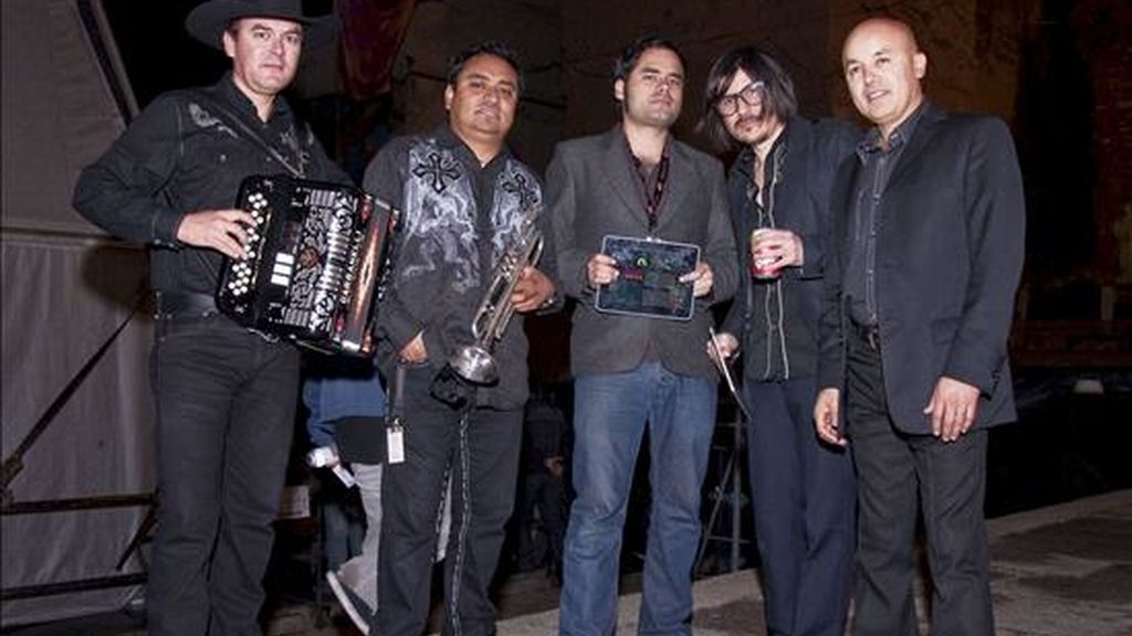 "Los integrantes del grupo mexicano ""Nortec Collective"". EFE/Archivo"