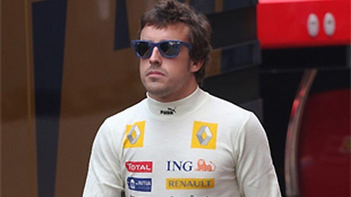 Fernando Alonso estará en Cheste. FOTO: Archivo.