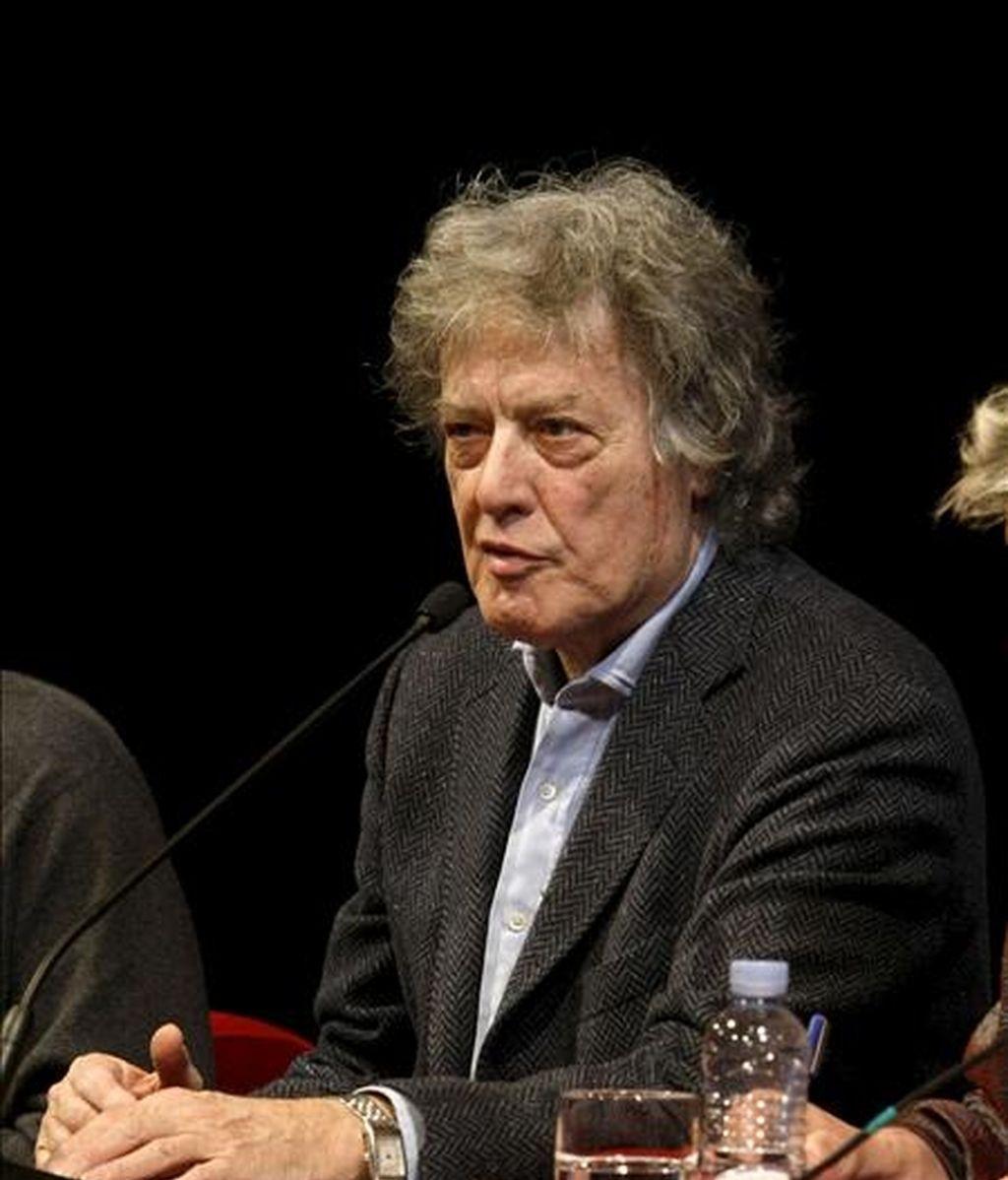 El dramaturgo y guionista de cine Tom Stoppard. EFE/Archivo