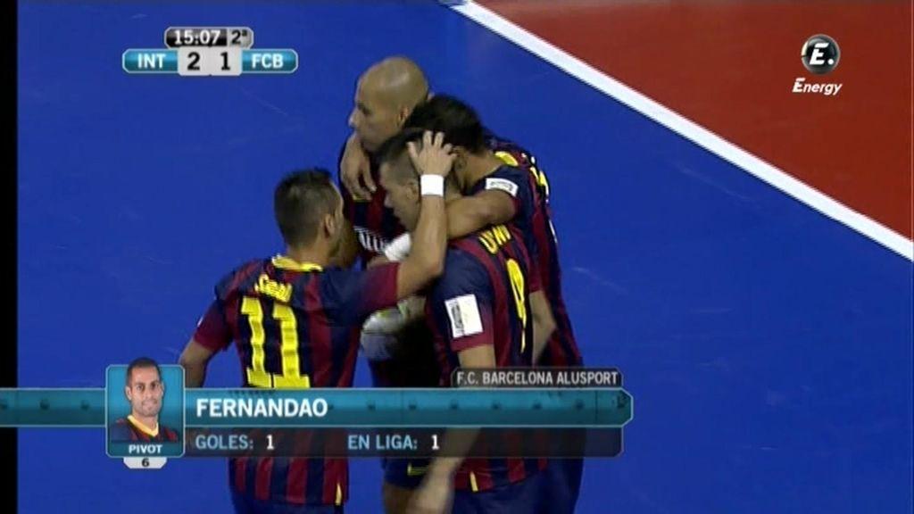 Gol de Fernandao (Inter 2 - 1 Barcelona)