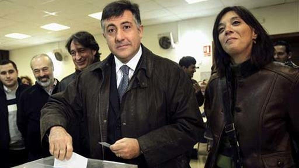 Puigcercós acude a votar
