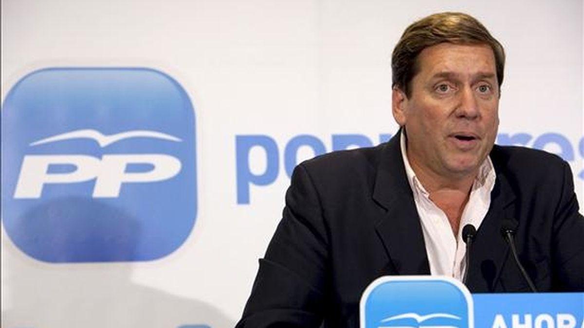 El candidato del PP a las elecciones europeas, Gabriel Mato. EFE/Archivo