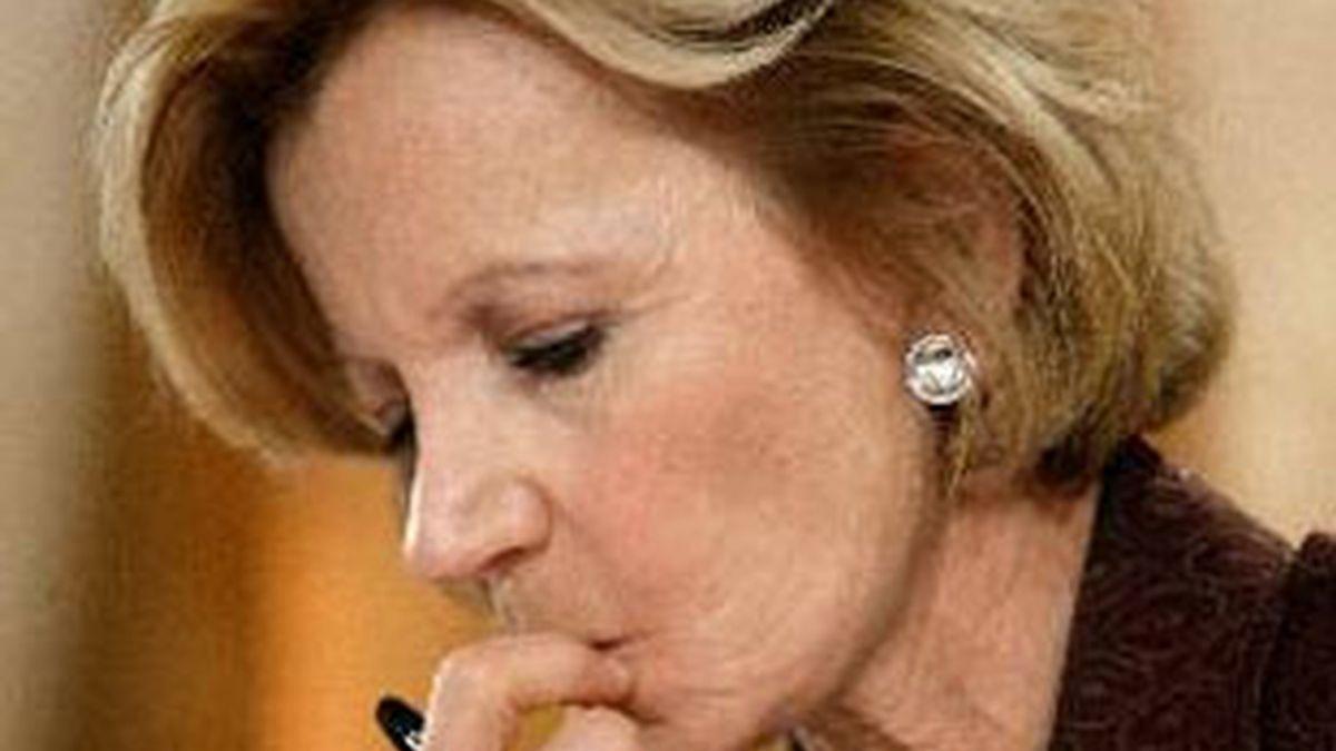 Imagen de archivo de la ministra de Economía, Elena Salgado. Foto: EFE.