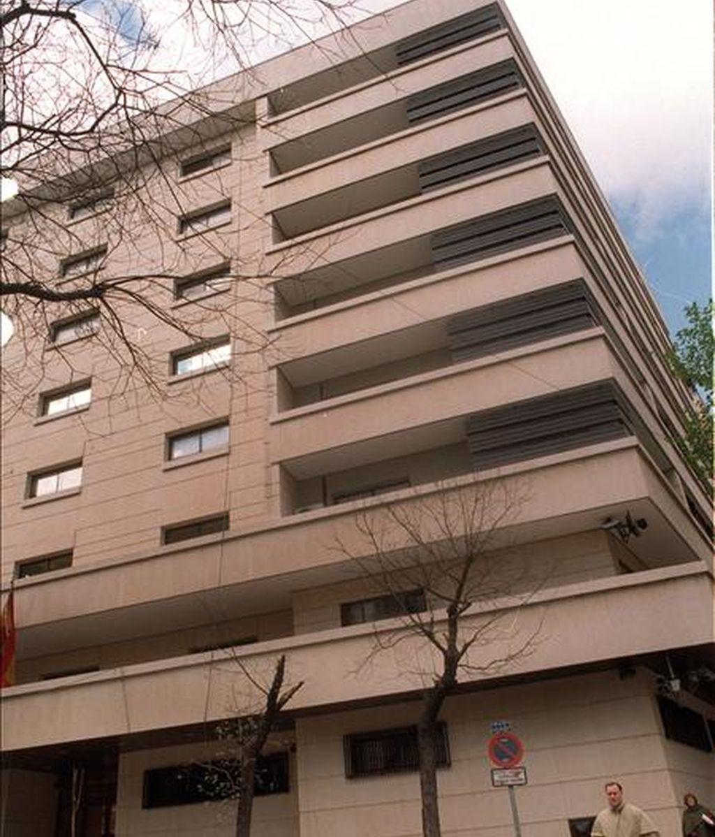 Fachada de la Audiencia Nacional en Madrid. EFE/Archivo