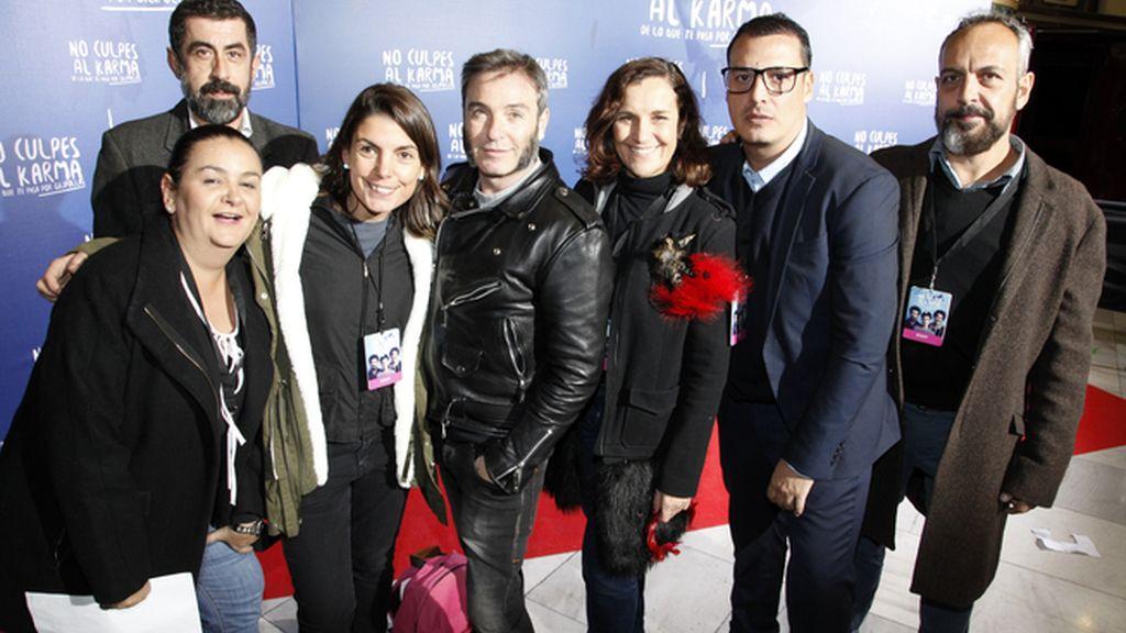 El equipo de DyP comunicación se encargó de organizar el estreno de la película