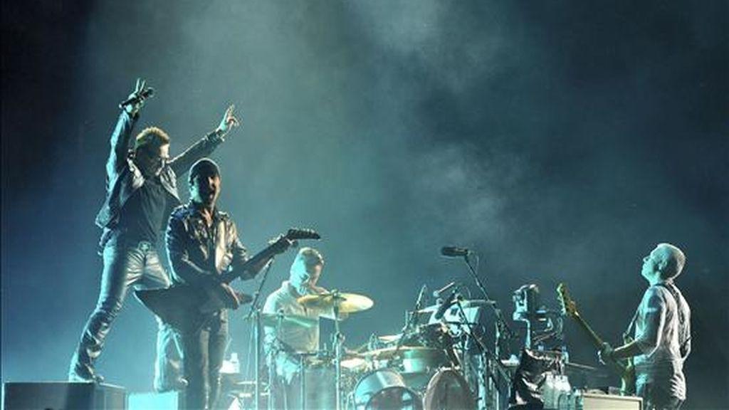 """""""Debido a gran demanda, U2 realizará otro concierto en Brasil"""", anunció hoy en su página web Time For Fun, empresa organizadora de eventos musicales. EFE/Archivo"""