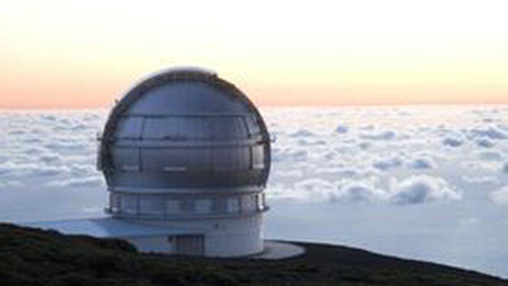 El Gran Telescopio de Canarias, en El Roque de los Muchachos, en la isla de Palma. Foto: EFE.