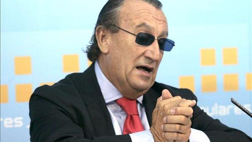El presidente de la Diputación de Castellón, Carlos Fabra. EFE/Archivo