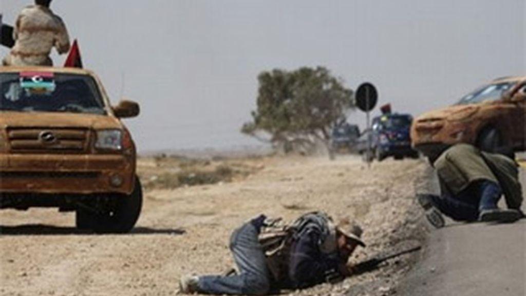 Misrata es el reducto más importante de los rebeldes en el oeste de Libia. Vídeo: Informativos Telecinco